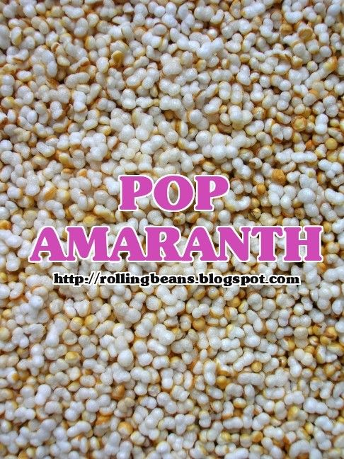 Rollingbeans: amaranto