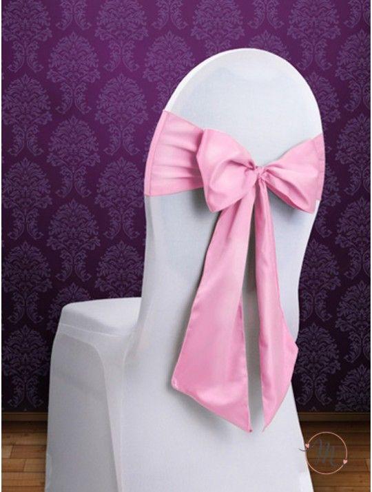 Fiocco per Sedia Satin Rosa. Fiocco per sedia satin. Per decorare le vostre sedie. Misure: 2.75 mt x 15 cm. Ordine minimo 10 pezzi e multipli di 10. #allestimenti #matrimonio #ricevimentomatrimonio #nozze #weddingplanner #accessori #decori #tavoli #sedie #runner #fiocchi #wedding #weddingideas #ideasforwedding #fiocco #satin