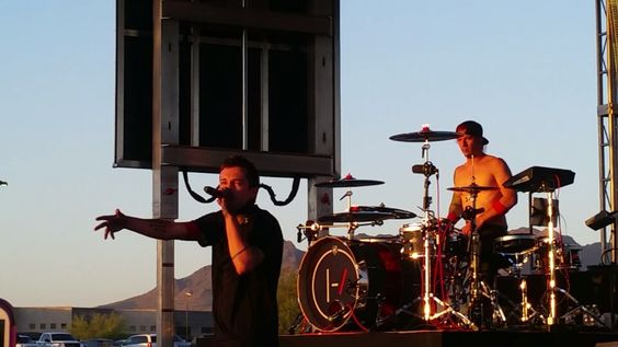Twenty One Pilots at Chipotle cultivate music festival in Phoenix |-/