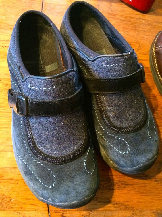 Women's Merrell Q-form Air Cushion Slip-on Navy Blue Shoes! Size 6 ...