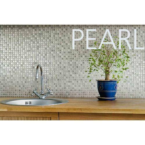 "Crystal Stone II 5/8"" x 5/8"" - Pearl Mosaic"