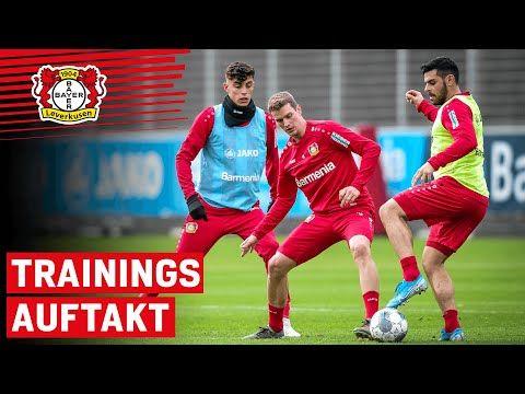 2020 Trainingsstart In Leverkusen So Trainieren Havertz Diaby Und Co Youtube