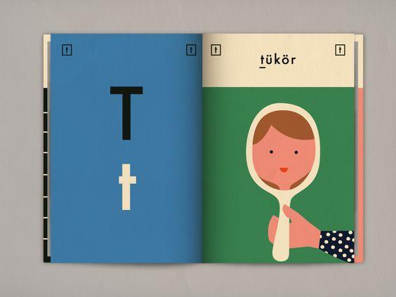 Carta t libro del alfabeto húngaro - disponible para cualquier entusiasta del diseño en Blurb!