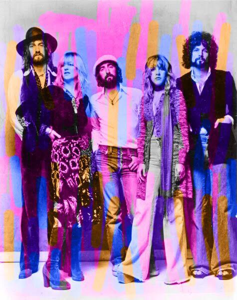 Colour me Fleetwood Mac!