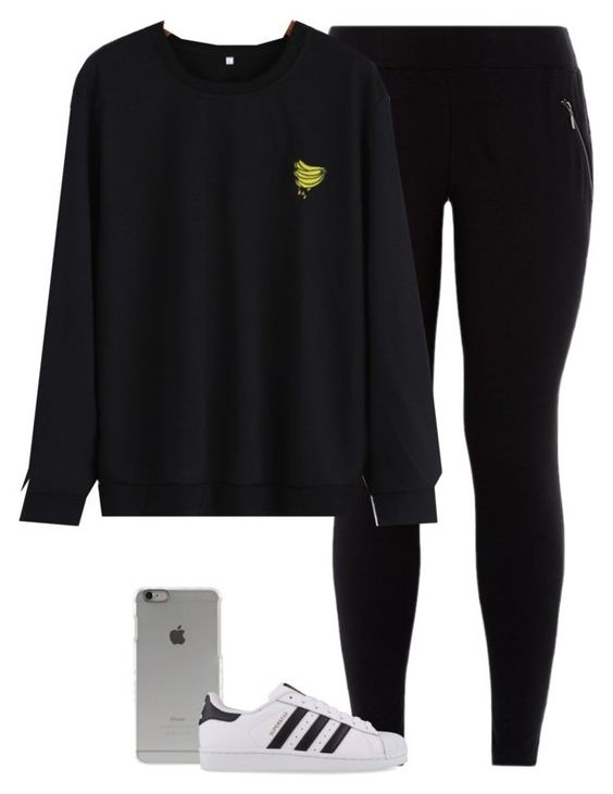 """""""Angel"""" by fanny483 ❤ liked on Polyvore featuring Incase and adidas Originals"""