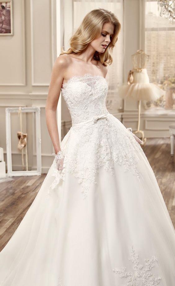 beautiful wedding dresses featuring elegantly romantic silhouettes