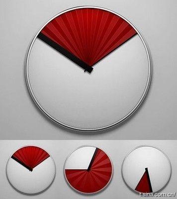 中国红扇子