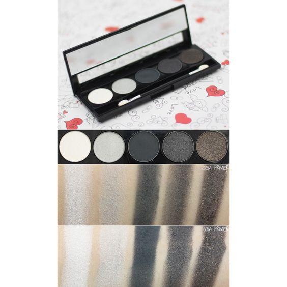 Paleta de Sombras Onix Toque de Natureza Encanto cosmeticos