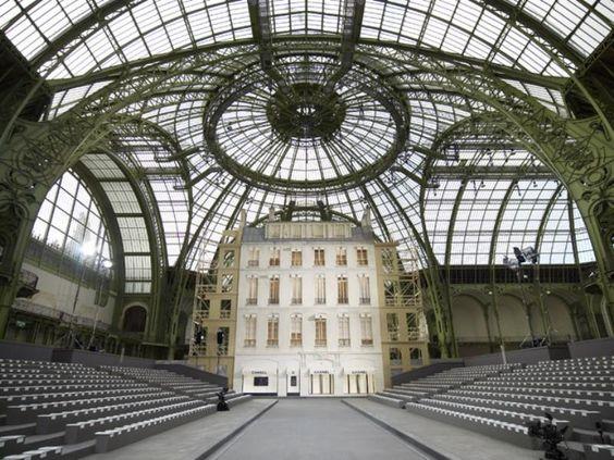 Grand palais paris grand palais paris location sfilata for Chanel locations in paris