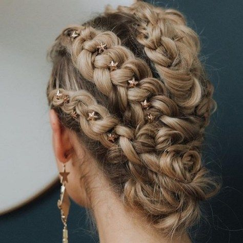 Effortless braided updo hairstyle ,wedding hairstyle ideas,bridal updo