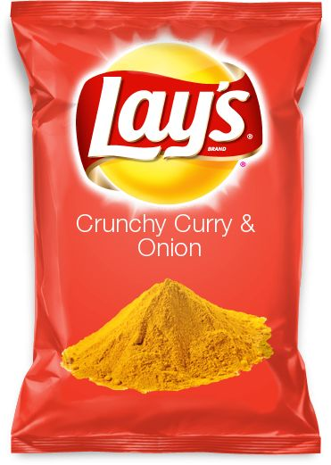 Christine and I just entered a Lay's contest— Vote if you think you would like to try this new creation:  Crunchy Curry & Onion