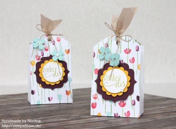 stampin up box bag tuete goodie gastgeschenke give away. Black Bedroom Furniture Sets. Home Design Ideas