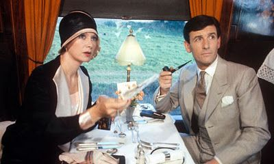Francesca Annis and James Warwick as Tuppence and Tommy Beresford in Agatha Christie's 'Partners in Crime'.