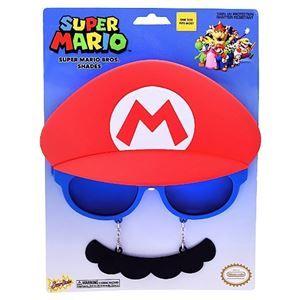 Super Mario Brothers Mario Sunglasses - 380576 | trendyhalloween.com