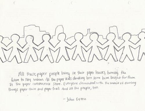 Imagini pentru paper towns for paper people