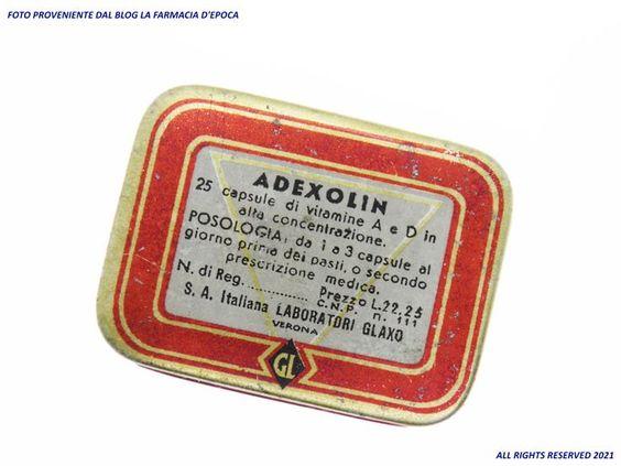 Adexolin Glaxo