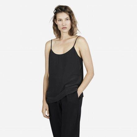 The Silk Camisole - Black - Everlane