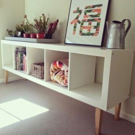 Trend  Cool IKEA Kallax Shelf Hacks ComfyDwelling Apartment Pinterest Ikea kallax shelf Kallax shelf and Ikea kallax