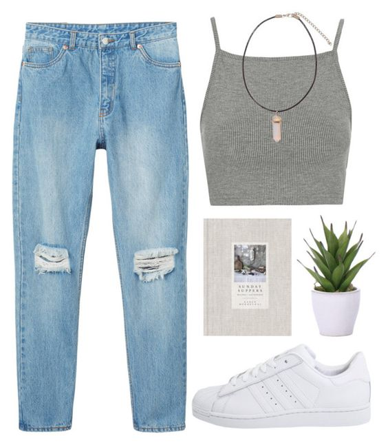 """""""Call it off"""" by sulk-y ❤ liked on Polyvore featuring Topshop, Monki, Lux-Art Silks and adidas Originals"""