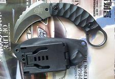 strider D2 fixed blade finger bear eagle claw tactical karambit knife k-sheath