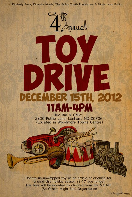 Toy Drive Flyer : Pinterest the world s catalog of ideas
