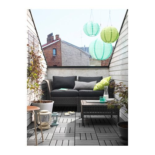 kungsholmen kungs canap 2 places ext rieur ikea terrasse 1 pinterest lieux. Black Bedroom Furniture Sets. Home Design Ideas