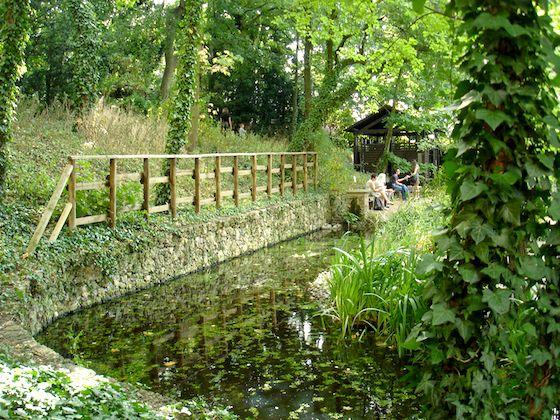 Paris :  jardin Saint-Vincent dans le 18e arrondissement, un espace laissé à l'abandon transformé en véritable jardin sauvage. Bouffée d'air frais et dépaysement garanti.    http://blog.velib.paris.fr/blog/2015/07/07/visitez-le-jardin-sauvage-du-18e/
