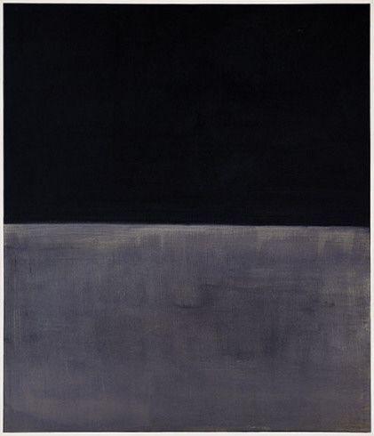 Solomon R. Guggenheim Museum, New York     Untitled (Black on Gray)  1969/1970  Acrylic on canvas  80 1/8 x 69 1/8 inches  (203.3 x 175.5 cm)