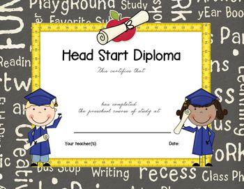 Free Printable Preschool Diploma   Graduation   Pinterest ...