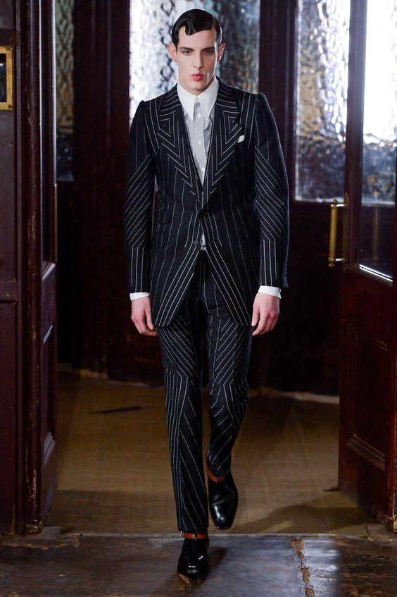 Alexander McQueen MEN | Londres | Inverno 2013 RTW