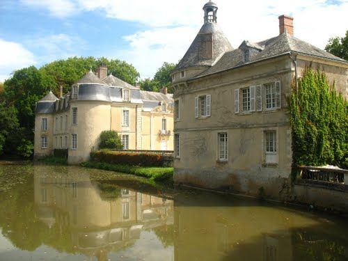 Chateau am See in Malicorne-sur Sarthe, France
