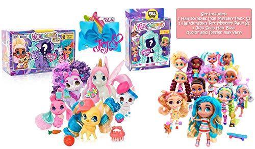 Ropeastar Hairdorables Collectible Mystery Doll And Pet W Https Www Amazon Com Dp B07my7qc45 Ref Cm Sw R Pi Dp U X Inefcb0d9my56 Tag Lol Dolls Dolls Pets