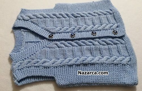 10 Sirada Bir Burma Erkek Cocuk Yelek Baby Knitting Patterns Yelek Orgu Modelleri