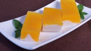 Mango Panna Cotta - Manjula's Kitchen - Indian Vegetarian Recipes