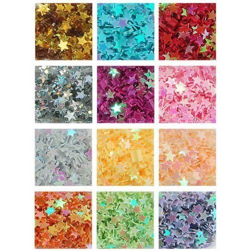 12 type practical nail art star decoration tips ($1.25)