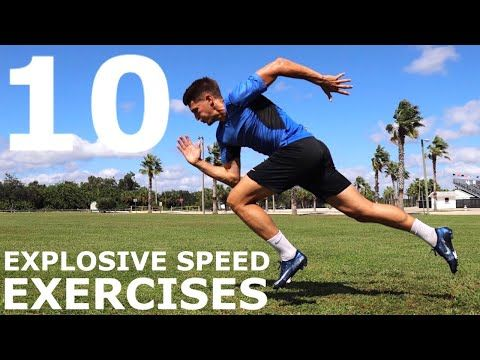 10 Explosive Speed Exercises No Equipment Bodyweight Training You Can Do Anywhere Youtube Speed Workout Agility Workouts Football Workouts Training