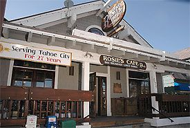 Rosie's- A Tahoe Tradition! for Breakfast, Lunch, a Burger or Diner $-$$