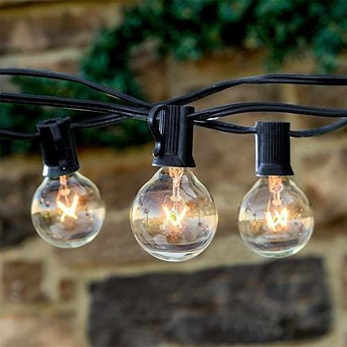 Serie De Luces Focos Jardin Exterior Y Patio Vintage 7 5m 699 00 Focos Luces De Navidad Exteriores Guirnalda De Luces