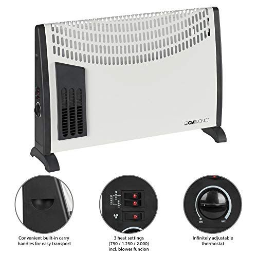 Clatronic Kh 3433 Convector Heater Blower Function Convector Heater Heater Appliances Direct