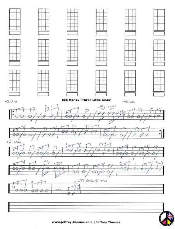 Ukulele ukulele chords three little birds : Pinterest • The world's catalog of ideas