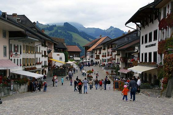 Gruyere, Suisse