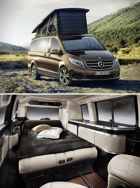 mercedes benz marco polo camper van is the ultimate weekend warrior trucks pinterest. Black Bedroom Furniture Sets. Home Design Ideas