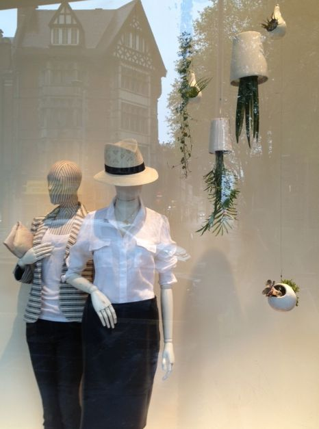 Jigsaw, one of the UK's leading fashion retailers, have decorated 57 UK stores with our Sky Planter Ceramic range.