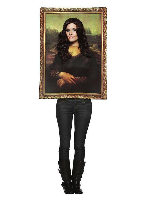 Mona Lisa Portrait Faschingskostüm