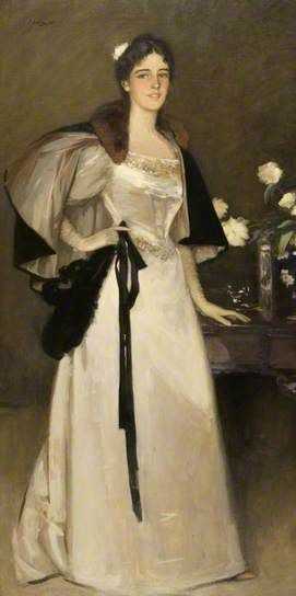 Miss Mary Burrell, 1895 by Sir John Lavery (1856-1941):