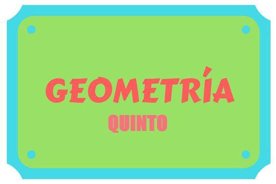 Geometría Quinto