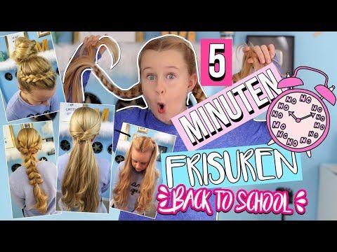5 Minuten Frisuren Back To School Mavie Noelle Youtube 5 Minuten Frisuren Frisuren Flechtfrisuren Mittellange Haare Frisuren Damen