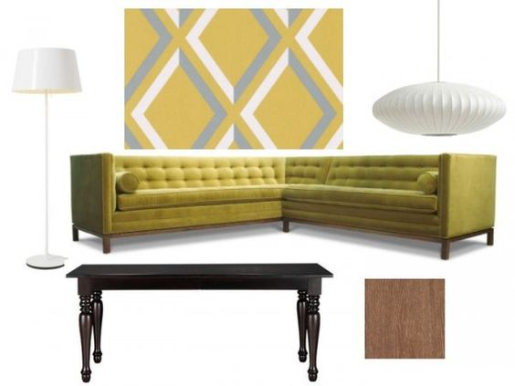 art: Google Image, Mid Century Modern, Art Worthy, Dining Room, Awesome Sectional, Floor Stencils, Google Search, Decor Gfx, Gfx Trends