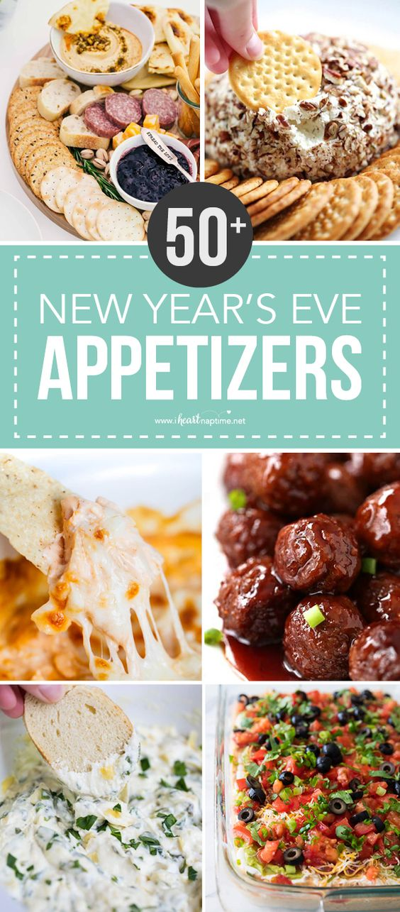 50+ BEST New Year's Eve Appetizers
