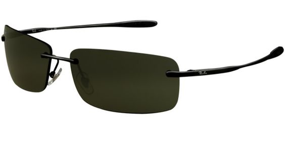 29ec28b6f7 Ray-ban Rb3519 Matte Black Polarized Sunglasses